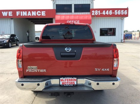 2013 Nissan Frontier Pro 4x Crew Cab 4wd P3278 At Mcferrin