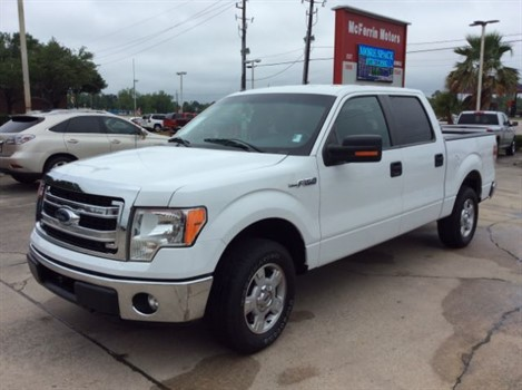 2013 ford f 150 xlt supercrew 6 5 ft bed 2wd p354 at mcferrin motors in humble tx. Black Bedroom Furniture Sets. Home Design Ideas