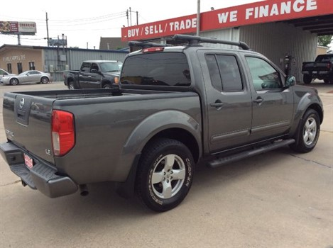 2008 Nissan Frontier Le Crew Cab 2wd R3351 At Mcferrin